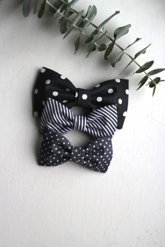 Dots and Stripes  Polka Dot bowties  Stripes bow tie by everDapper