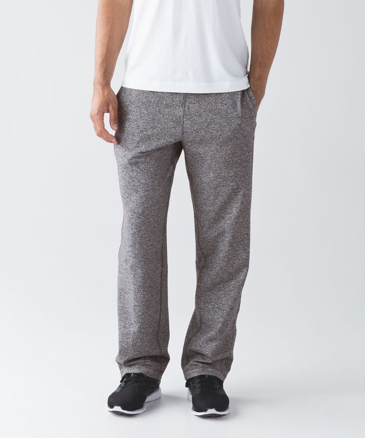 We designed these pants for warm-ups and cool-downs.