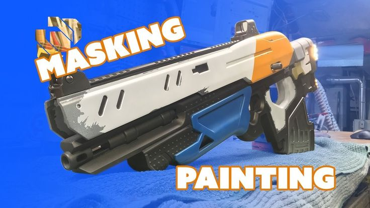 #VR #VRGames #Drone #Gaming How to 3D Print a Gun Prop from Destiny Part 9: Masking & Painting - Prop: 3D 3d print, 3mm, acrylic paint, bill doran, boolean gemini, build, bungie, Cosplay, costume, Craft, Destiny, Drone Videos, finish, how-to, mask, Model, paint, PLA, punished props, scout rifle, spray, tamiya, tutorial, ultimaker #3DPrint #3Mm #AcrylicPaint #BillDoran #BooleanGemini #Build #Bungie #Cosplay #Costume #Craft #Destiny #DroneVideos #Finish #How-To #Mask #Model #