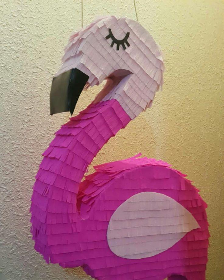 Flamingo Pinata بنياتا الفلامنقو Birthday Outdoor Decor Decor Home Decor