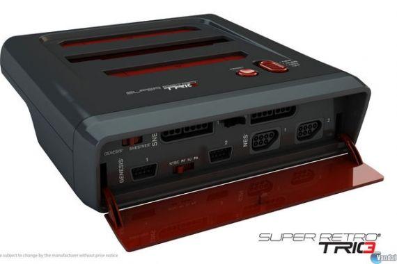 consola NES, Mega Drive y Super Nintendo unidas en una única consola: Super Retro Trio