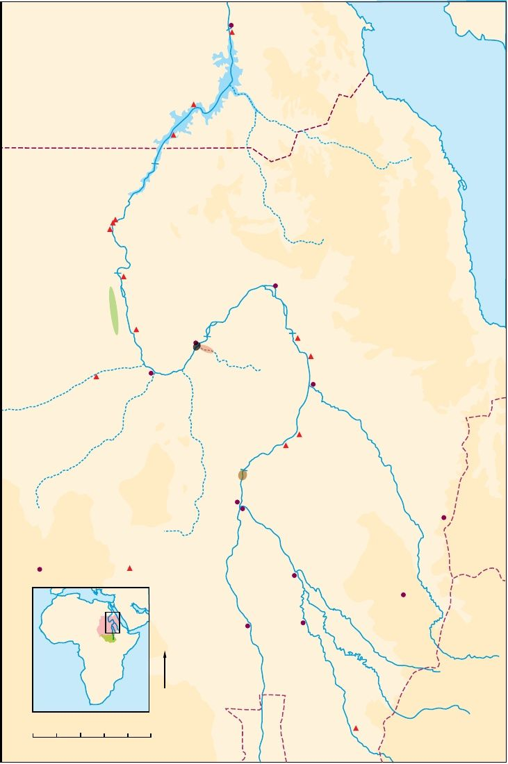 Sudanese Nubian ancient sites https://www.academia.edu/3789815/the_round_structures_of_Gala_Abu_Ahmed_fortress_in_lower_Wadi_Howar_Sudan
