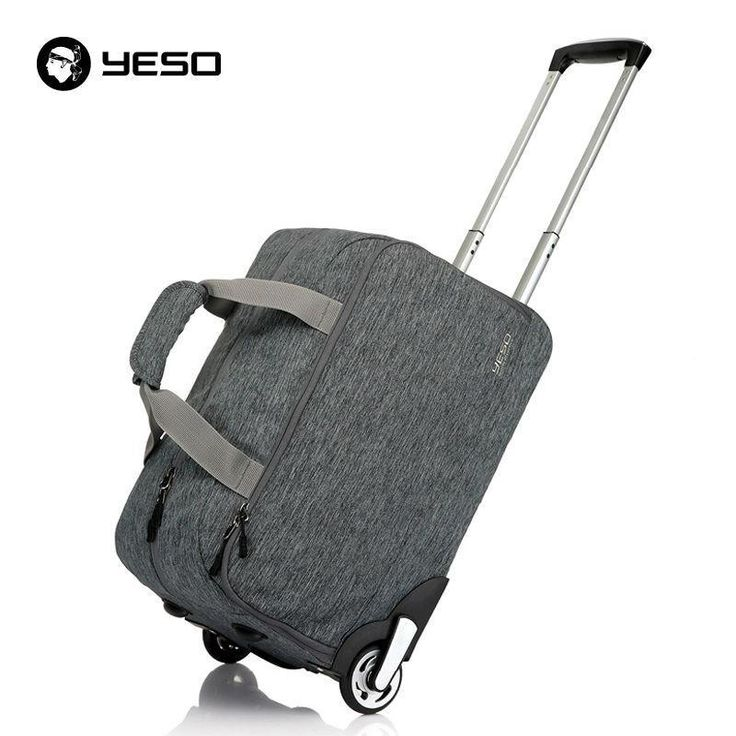 Trolley Travel Bag Hand Luggage 20 inch 32L Rolling Duffle Bags Waterproof Oxford Suitcase Wheels Carry On Luggage Unisex