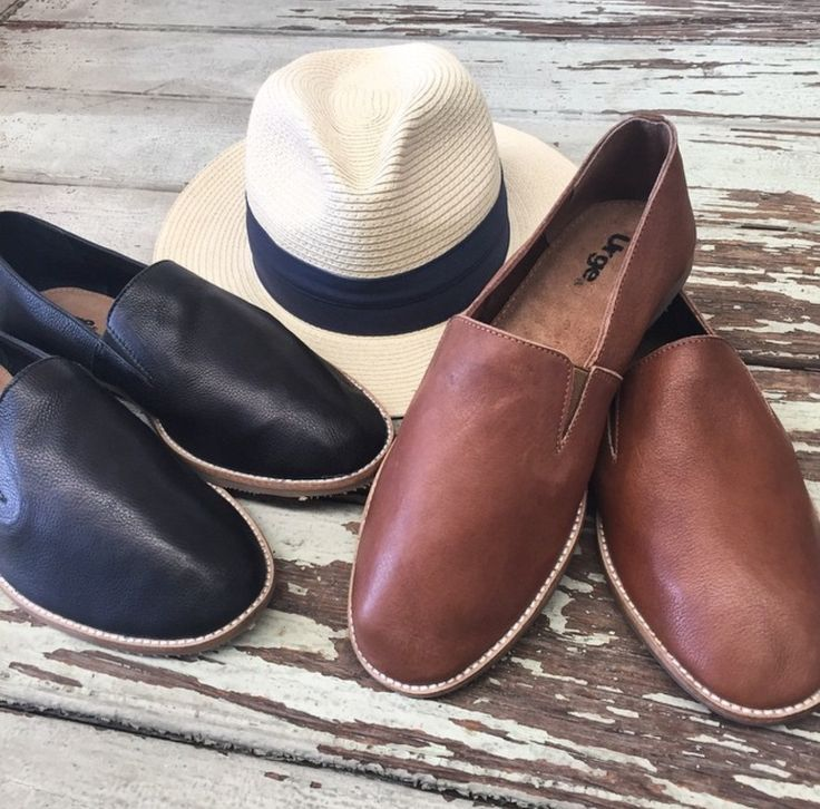 LOAF Leather Slip on Loafer