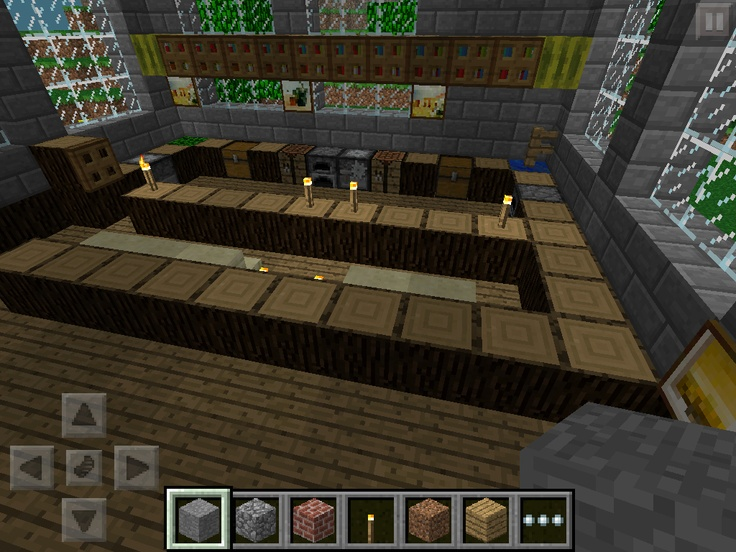 Minecraft house kitchen minecraft ideas pinterest for Kitchen ideas minecraft