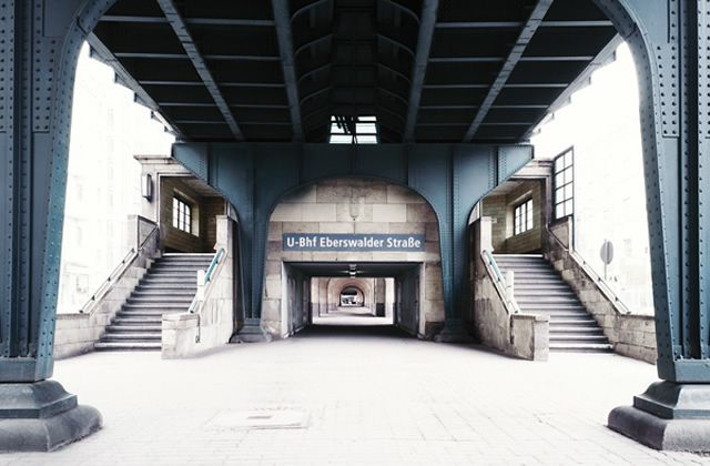© bernhard quade photography -   Ubahn Berlin Eberfelderstrasse