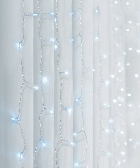 Merkury Innovations Cool White Cascading Curtain Lights Zulily