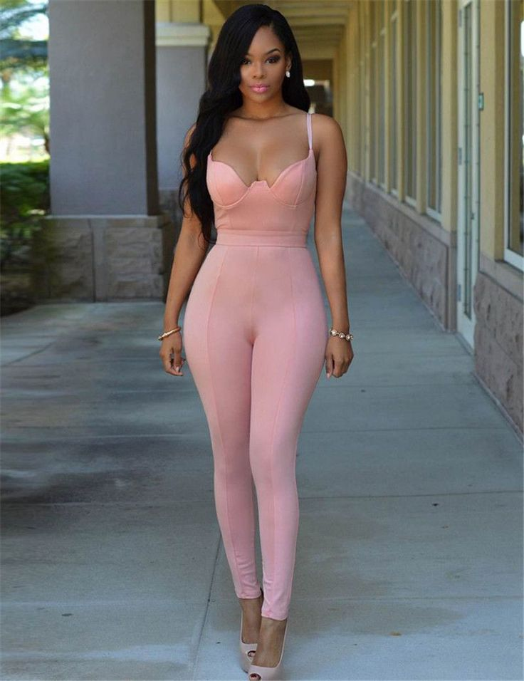 RJ80281 Backless Bandage Sexy Jumpsuit Latex Zentai Catsuit Smooth Wetlook Jumpsui Tight-fitting Cute Faux Leather Jumpsuit
