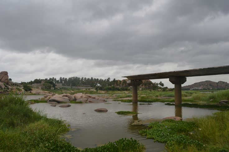 visited Hampi recently to capture it thro' the eyes of my new Nikon D 3200