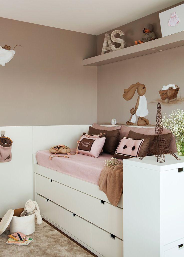 Tres ambientes en un pequeño dormitorio · ElMueble.com · Niños: