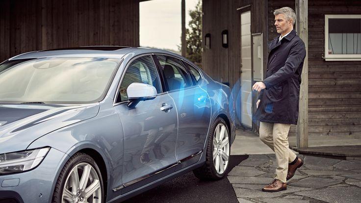 In curand nu mai avem nevoie de cheie ca sa pornim masina – Volvo lucreaza la o aplicatie pentru mobil ce va inlocui clasica cheie