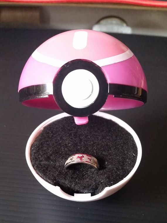 Pokeball Ring Box, Pokemon lover must have