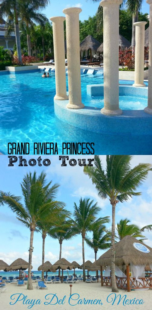 PHOTO TOUR OF THE GRAND RIVIERA PRINCESS (AND LAGUNA VILLAS) | PLAYA DEL CARMEN, RIVIERA MAYA, MEXICO