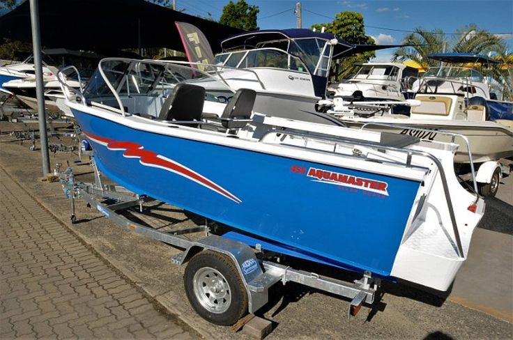 New Aquamaster 455 Runabout: Trailer Boats | Boats Online for Sale | Aluminium | Queensland (Qld) - Brisbane Qld | Boats Online