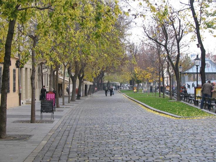 Promenade along the Danube - Bratislava