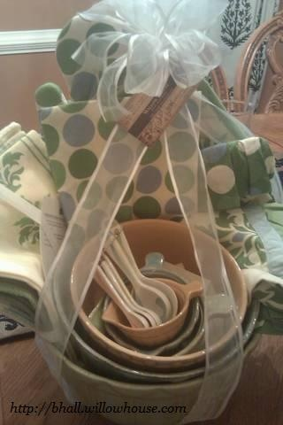 """Gift basket I am donating to fundraiser for The Christ School's """" Mane Event"""".  Want a set for yourself?  Checkout my website..... Graysonmerritt.willowhouse.com"""