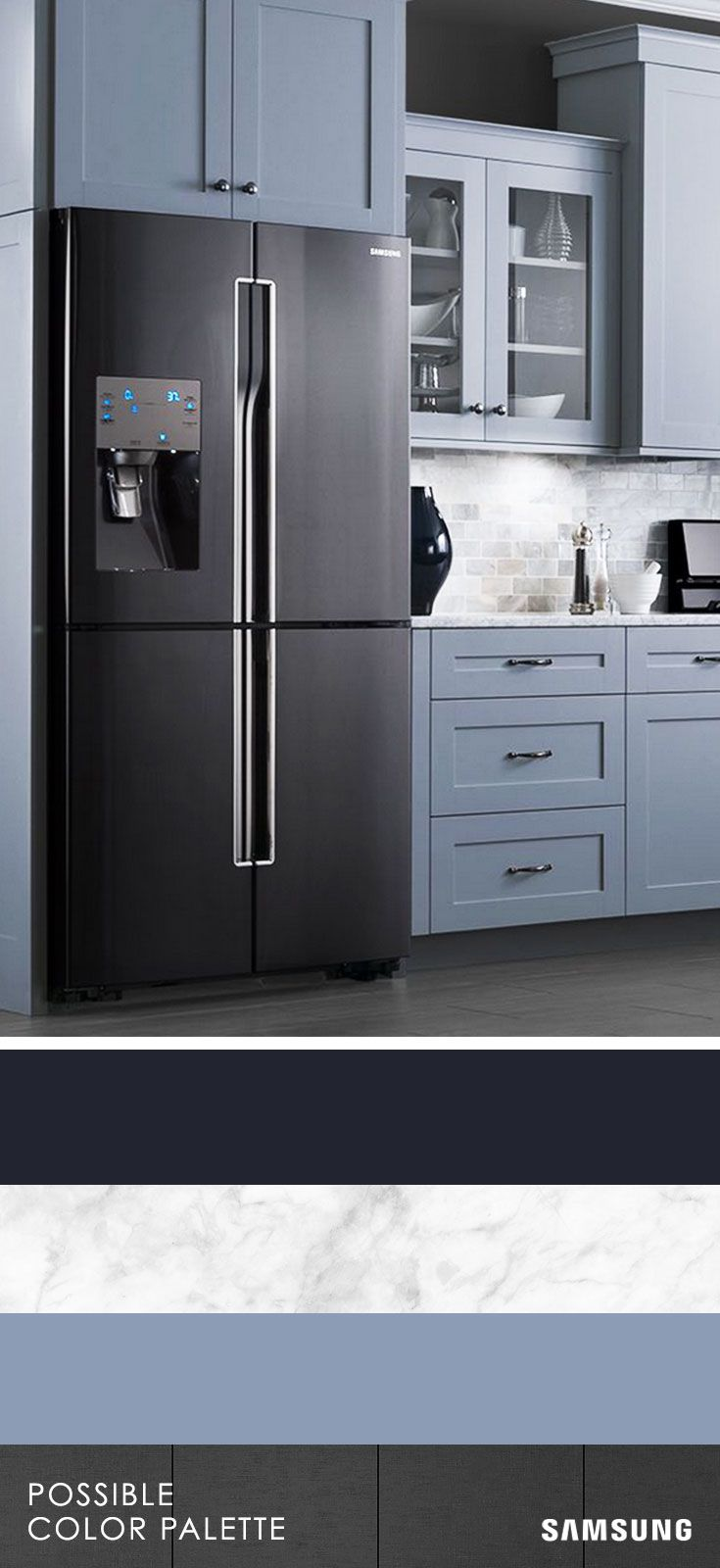 Kitchen appliances different colors - Black Has Always Paired Effortlessly With Other Colors And It S No Different When It Comes