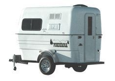Compact lightweight luxury travel camper trailer for two - more features than the standard Little Joe Model