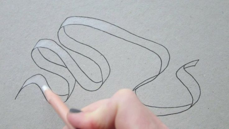 Draw Tip Tuesday - Drawing a Ribbon. A little trick to easily draw a ribbon or banner. Copyrights koosjekoene.nl Music by Good Ol' Contraba...