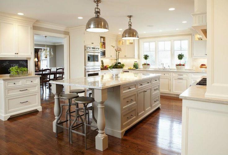 What Is A Kitchen Island With Pictures: TR Building & Remodeling: Beautiful Two Tone U-shaped