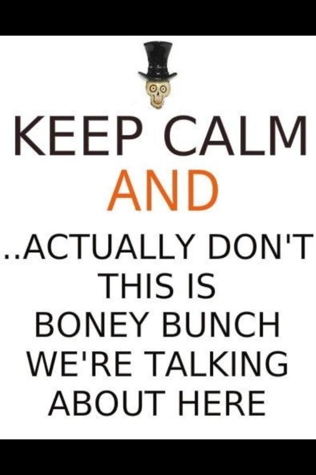 Keep calm boney
