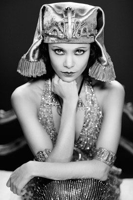 Thandie Newton Channels Theda Bara As Cleopatra