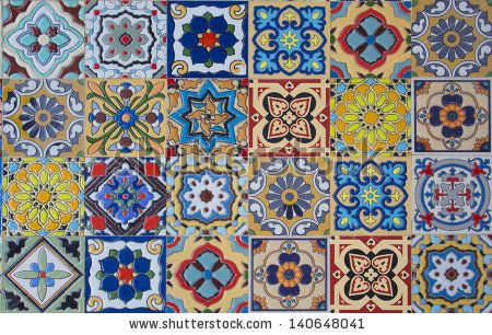 ceramic tiles patterns from Portugal. by Sukpaiboonwat, via Shutterstock