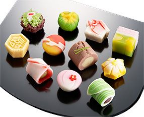 New Year wagashi