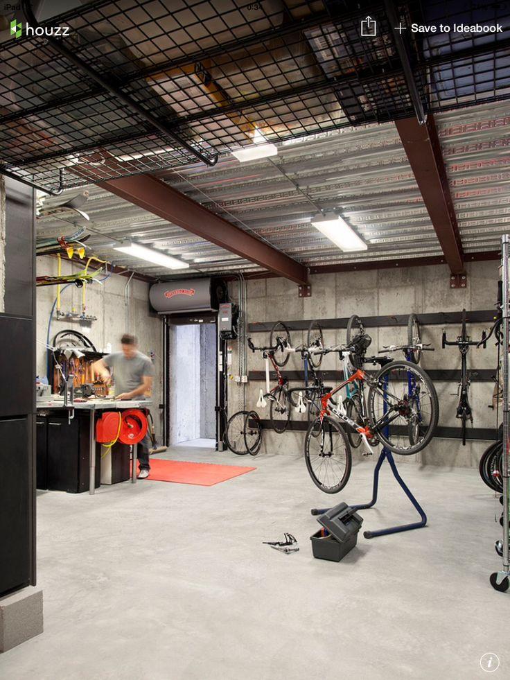 Bike shop and storage