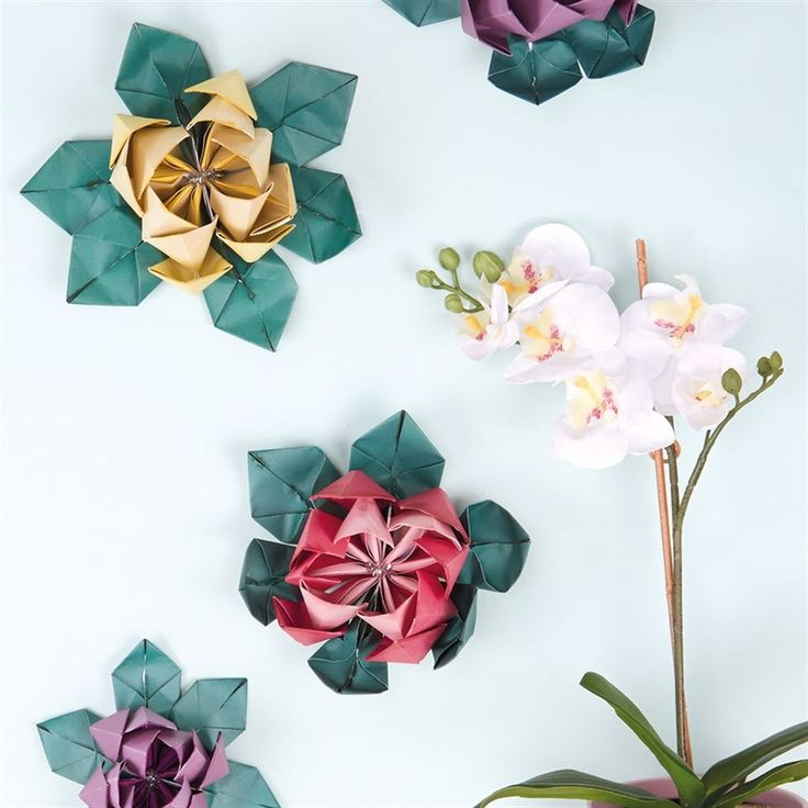672 best origami and paperfolding crafts images on pinterest craft how to make origami flowers docrafts origami paper foldingorigami mightylinksfo