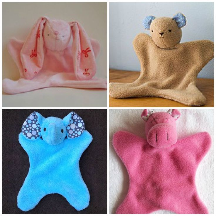 Patterns for sew your own lovey - when you lose one, sew another!
