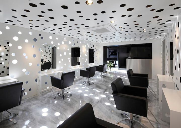 446 best Salon Interior design images on Pinterest