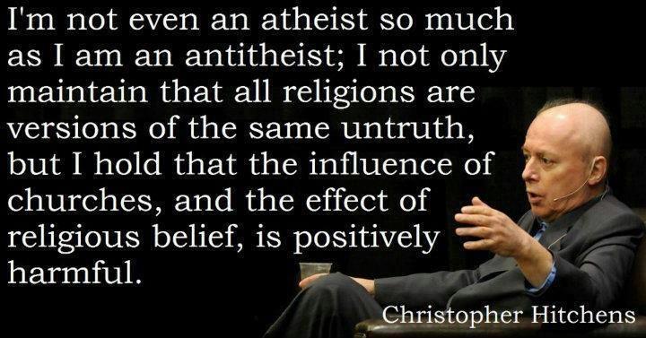 antitheist atheist The latest tweets from brutal antitheist (@proantitheist) religion is a disease  infecting mankind that needs to be eradicated #antitheist #atheist #agnostic.