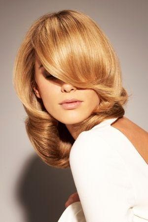 Le brushing chic de Franck Provost | Cheveux mi long, Belle coupe de cheveux, Coupe cheveux mi long