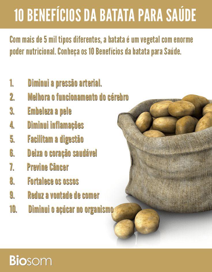 10 benefícios da batata