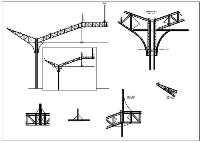 50 Best Steel Structure Details Cad Drawings Download