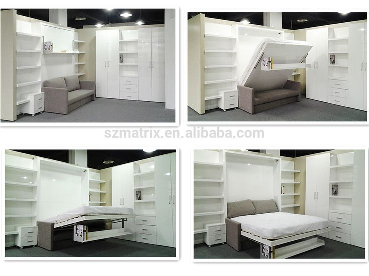 Fold Up Bed Wall Mounted