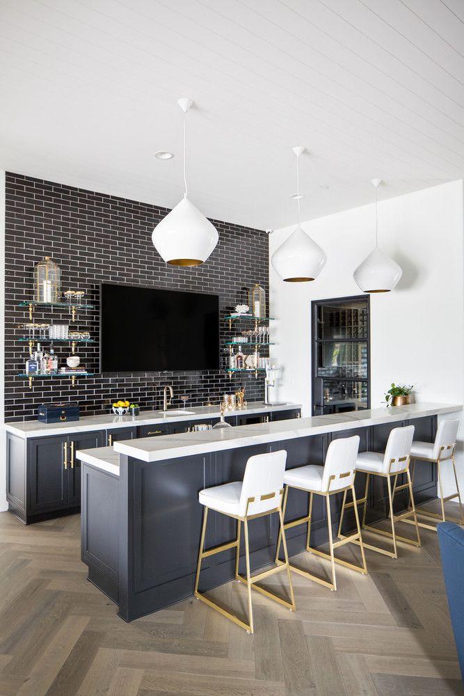 Tracy Lynn Studio Santaluz Project California Home Tour Home Bar Rooms Modern Home Bar Bars For Home