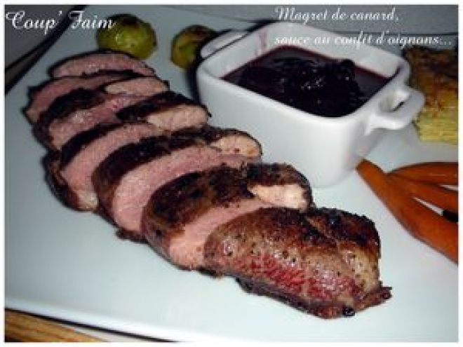 Magret de canard cuisson basse température, Recette par Coup' Faim - Ptitchef