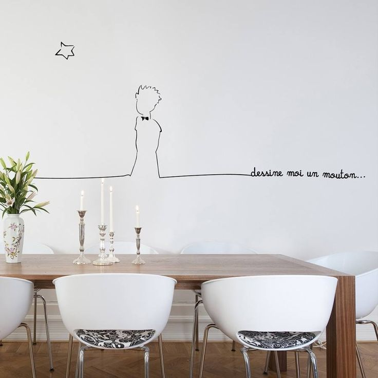 little prince wall decal