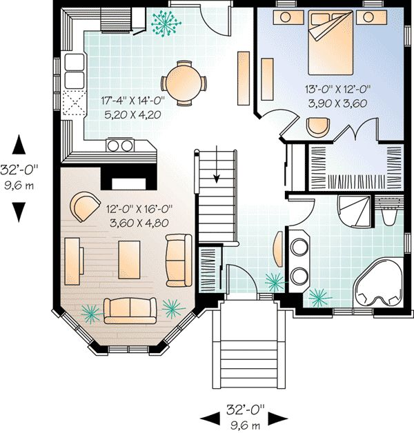 Pleasing Top 25 Ideas About Tiny House Floor Plans On Pinterest House Largest Home Design Picture Inspirations Pitcheantrous