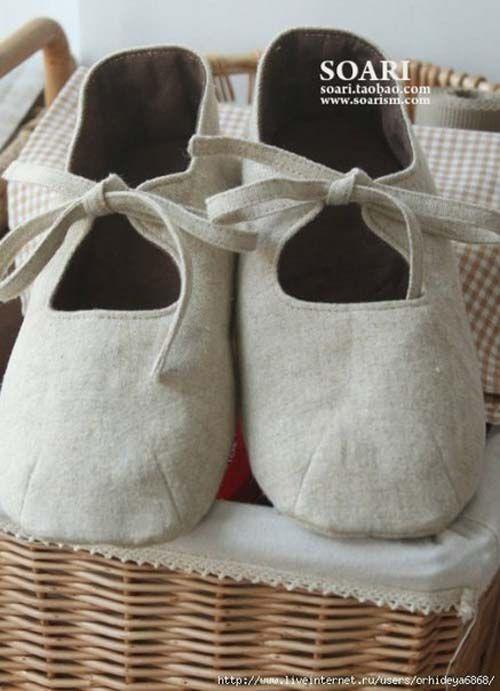 1000 images about zapatos para bb en pinterest patrones - Zapateros de tela ...