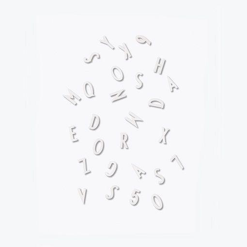 Design Letters kirjaintaulu | Seita Shop