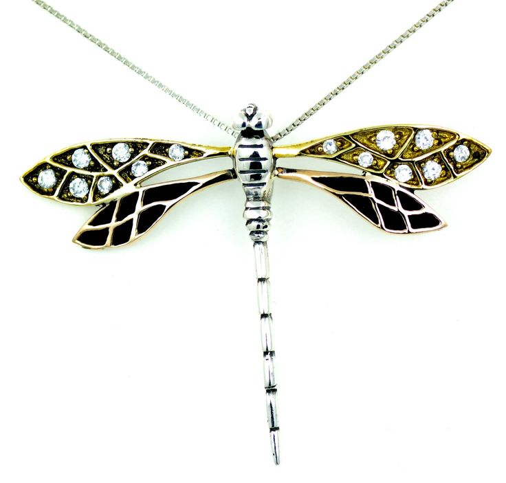 #yusufcuk #dragonfly #silver #necklace
