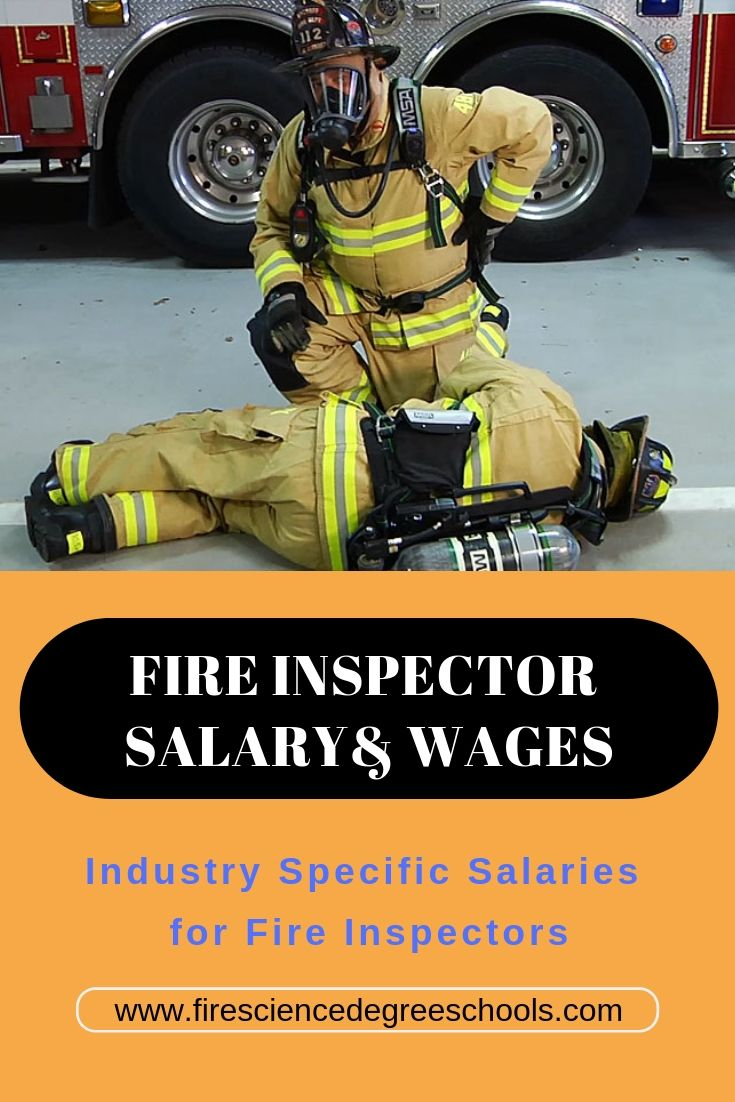 How long does it take to a fire inspector career