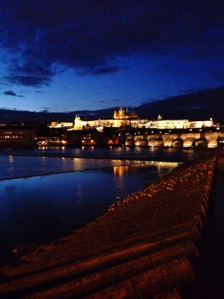 This view will never get boring! #Prague at Night - www.urbankristy.com