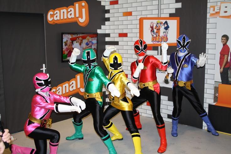 Ils sont attendus à Kid Expo 2012 : Astérix et Panoramix, les Power Rangers, Charlotte aux Fraises, Bob l'Eponge, Scooby-Doo, Frédérick Bousquet, Joan…