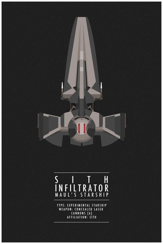 Minimalist 'Star Wars' Posters Infiltrate the Galaxy [PICS] #StarWars