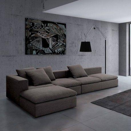 !!! DENNE MODELLEN KAN DUSE I VÅRT SHOWROOM !!! Her kan du designe din sofa etter dine mål hjemme. En flott modulsofa med mange oppsett muligheter, se moduloversikten. (bildet ved siden av)  velg mellom mange forskjellige flotte stoffer og farger, semer informasjon. kan bestilles speilvendt