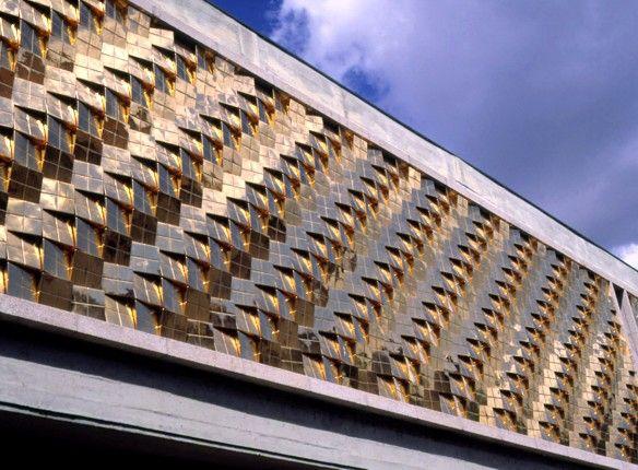 Eduardo Nery | Barcelos | Museu de Olaria | Fachada / Façade | 1994 #Azulejo #EduardoNery #Fachada #Façade #ArtePública #PublicArt